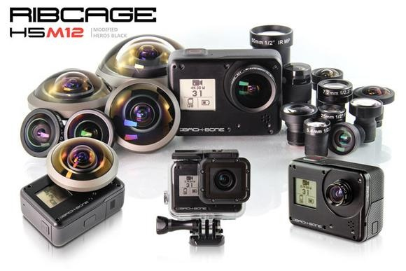 INTRODUCING THE RIBCAGE H5M12 – MODIFIED HERO5 BLACK!