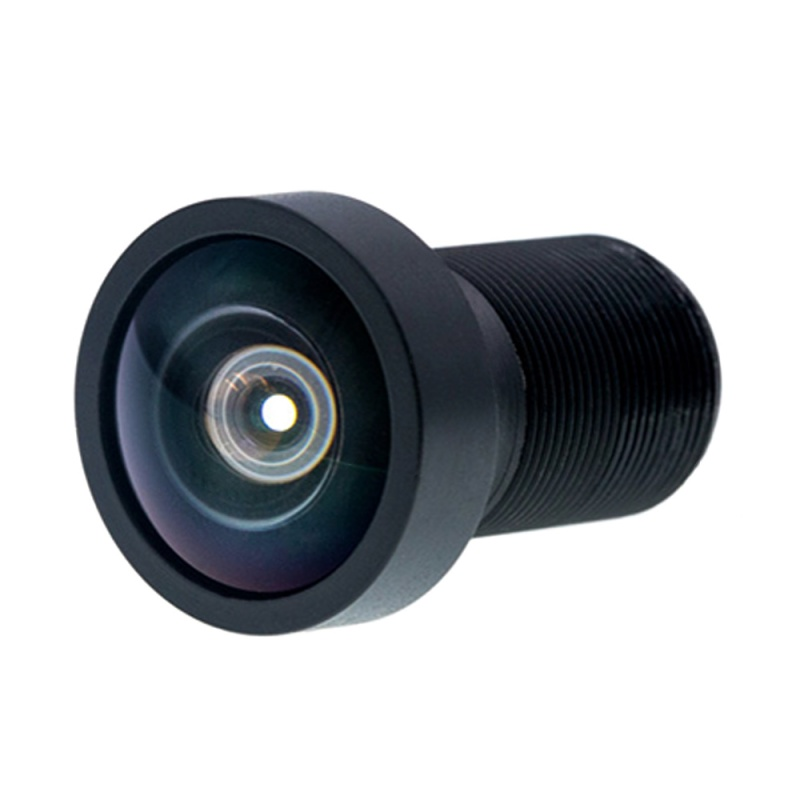 4K Resolution 1/2.3 Inch 2.86mm 16MP Fisheye Lens M12 170D DFOV Panoramic Image Board Lens for Gopro