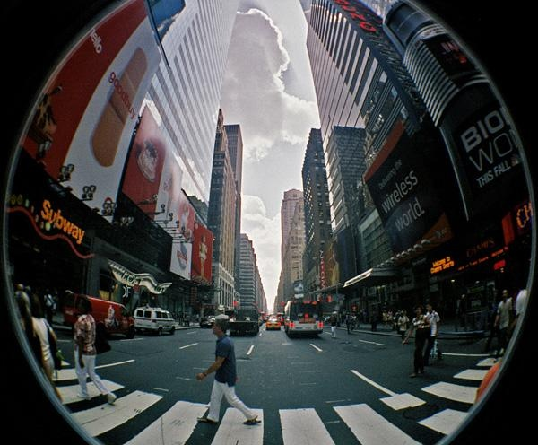 What's the fisheye lens?