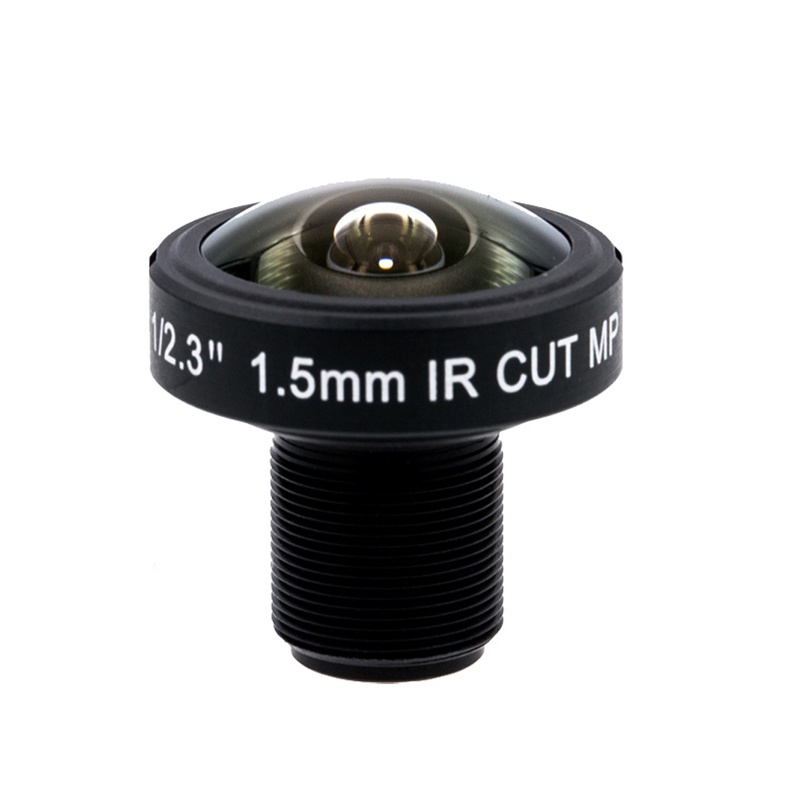 "1/2.3"" F2.8 1.5mm Wide Angle 180D Fisheye Lens 10MP M12 for GoPro Hero 4 3 Xiaomi Yi 4K Replace"