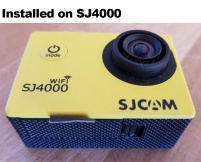"4K High Resolution 4.35mm Non Distortion Lens 1/2.3"" F2.8 70 Degree 10MP IR for GoPro Hero 4 3+"